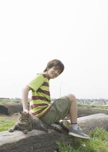 男の子の写真素材 [FYI03031816]