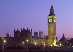 英国議会議事堂とビッグベンの写真素材 [FYI03032216]
