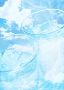 氷水の写真素材 [FYI03032461]