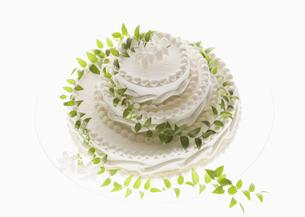 ウェディングケーキの写真素材 [FYI03033557]