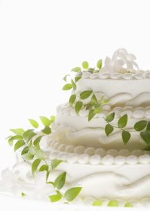 ウェディングケーキの写真素材 [FYI03033558]