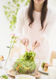 グリーンサラダの写真素材 [FYI03034366]