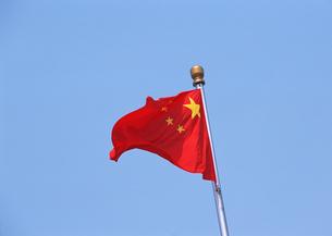 中国国旗の写真素材 [FYI03034572]