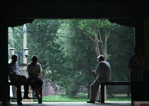 年配の男性たちの写真素材 [FYI03034597]