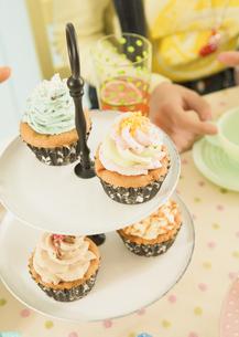 カップケーキの写真素材 [FYI03035720]