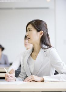 研修中のビジネスウーマンの写真素材 [FYI03036544]