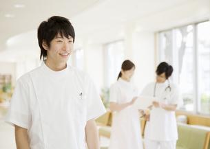 笑顔の看護師の写真素材 [FYI03037388]