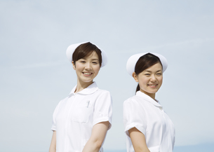 笑顔の看護師の写真素材 [FYI03037461]