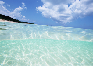 海と青空の写真素材 [FYI03038086]