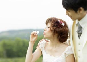 新郎と新婦の写真素材 [FYI03038744]