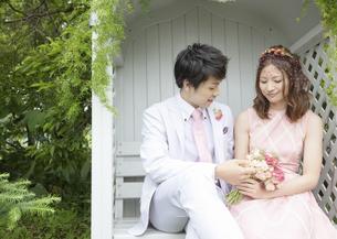 新郎と新婦の写真素材 [FYI03038787]