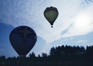 熱気球の写真素材 [FYI03039493]