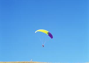 パラグライダーの写真素材 [FYI03039498]