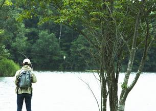 釣りの写真素材 [FYI03039537]