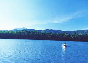 湖の写真素材 [FYI03039546]