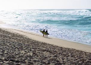 砂浜の写真素材 [FYI03039574]