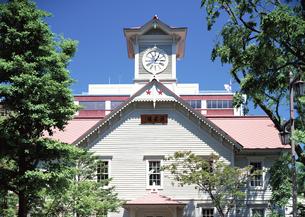 札幌時計台の写真素材 [FYI03040011]