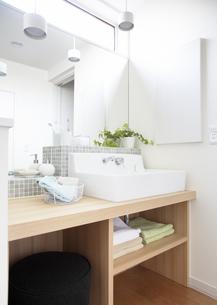 洗面所の写真素材 [FYI03040140]