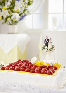 ウェディングケーキの写真素材 [FYI03040424]