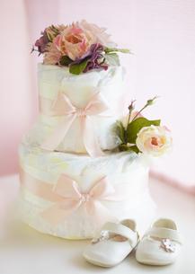 おむつケーキの写真素材 [FYI03040539]