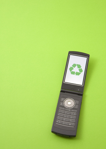 携帯電話の写真素材 [FYI03040861]