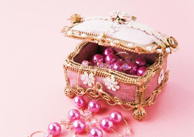 宝石箱の写真素材 [FYI03041219]
