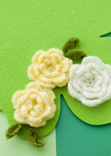 ニットの花の写真素材 [FYI03041306]