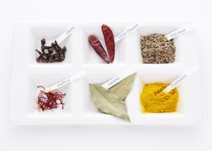 色々な香辛料の写真素材 [FYI03041439]