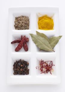 色々な香辛料の写真素材 [FYI03041440]