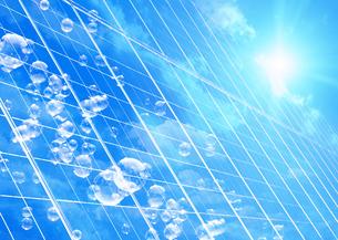 太陽光発電イメージの写真素材 [FYI03041752]