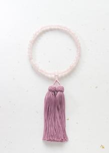 数珠(喪イメージ)の写真素材 [FYI03041983]