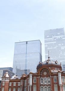 東京駅の写真素材 [FYI03042234]
