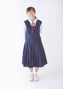 女子中学生の写真素材 [FYI03042691]