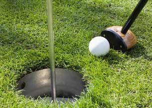 パークゴルフの写真素材 [FYI03043352]