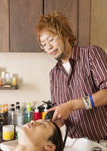 美容師の写真素材 [FYI03043397]