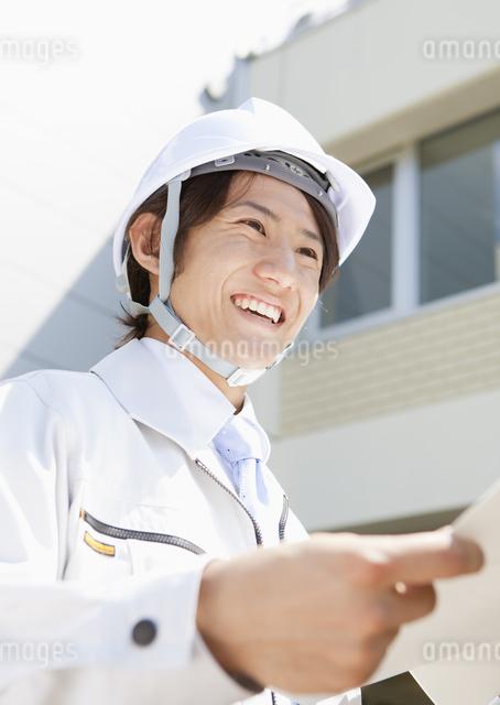 建設作業員の写真素材 [FYI03043436]