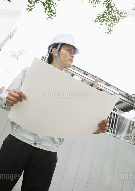建設作業員の写真素材 [FYI03043494]