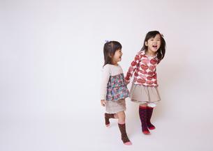 姉妹の写真素材 [FYI03043877]