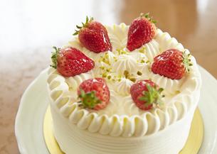 イチゴケーキの写真素材 [FYI03043922]