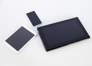 スマートデバイスの写真素材 [FYI03043962]