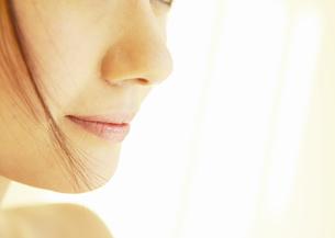 女性の口元の写真素材 [FYI03047425]