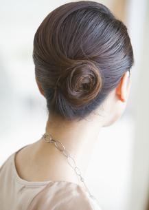 女性のまとめ髪の写真素材 [FYI03047583]