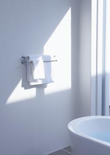 バスルームのタオルハンガーの写真素材 [FYI03048234]