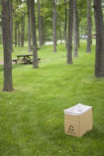 ゴミ箱の写真素材 [FYI03049158]