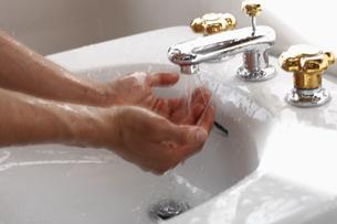 手洗いシーンの写真素材 [FYI03049242]