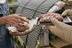 手作りパンの写真素材 [FYI03049795]