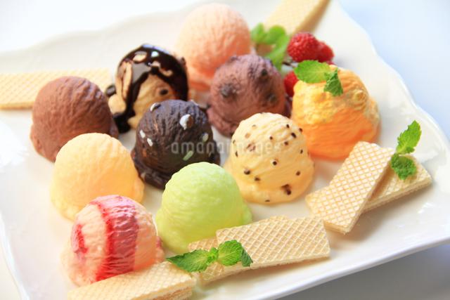 アイスクリームの写真素材 [FYI03050928]