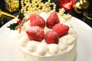 クリスマスケーキの写真素材 [FYI03050931]