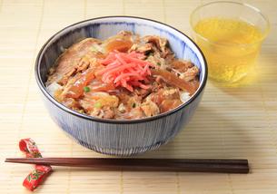 牛丼の写真素材 [FYI03051051]