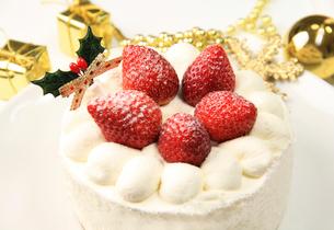 クリスマスケーキの写真素材 [FYI03051069]